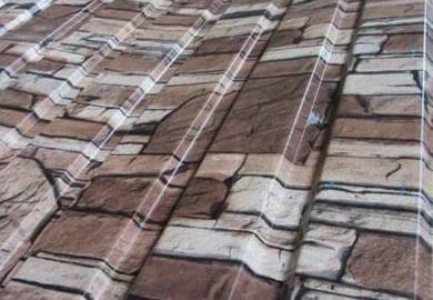 Декоративное покрытие под камень