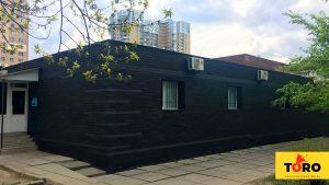 Вентилируемый фасад Toro черный