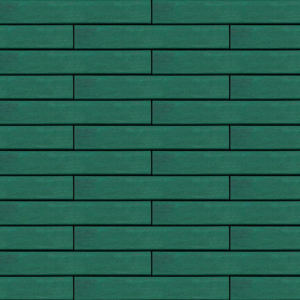 Вентилируемый навесной фасад зеленый