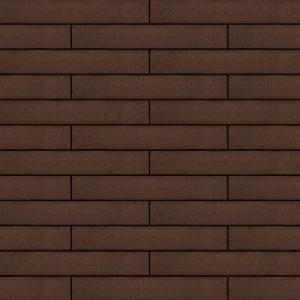Вентилируемый навесной фасад коричневый