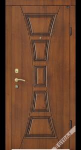 Входная дверь Straj коричневая