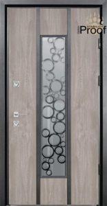 Входная дверь Straj с остеклением