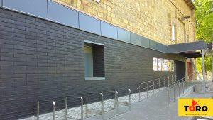 Вентилируемый фасад Toro графитовый