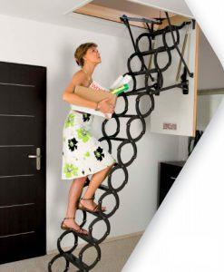 Лестница Fakro на чердак