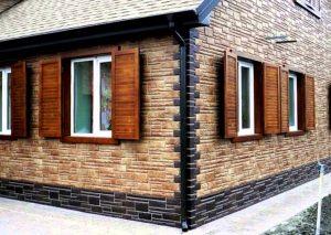 Фасадные панели литые